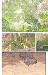 Project Waldo - Page 1 color by hughferriss