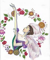 Ballerina Kathryn Morgan