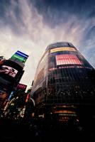 Shibuya Qfront by ArtShima