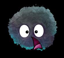 Shocked soot sprite by SuzyQ2pie