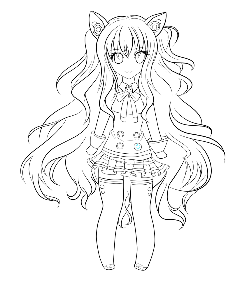 vocaloid seeu chibi coloring pages - photo#8