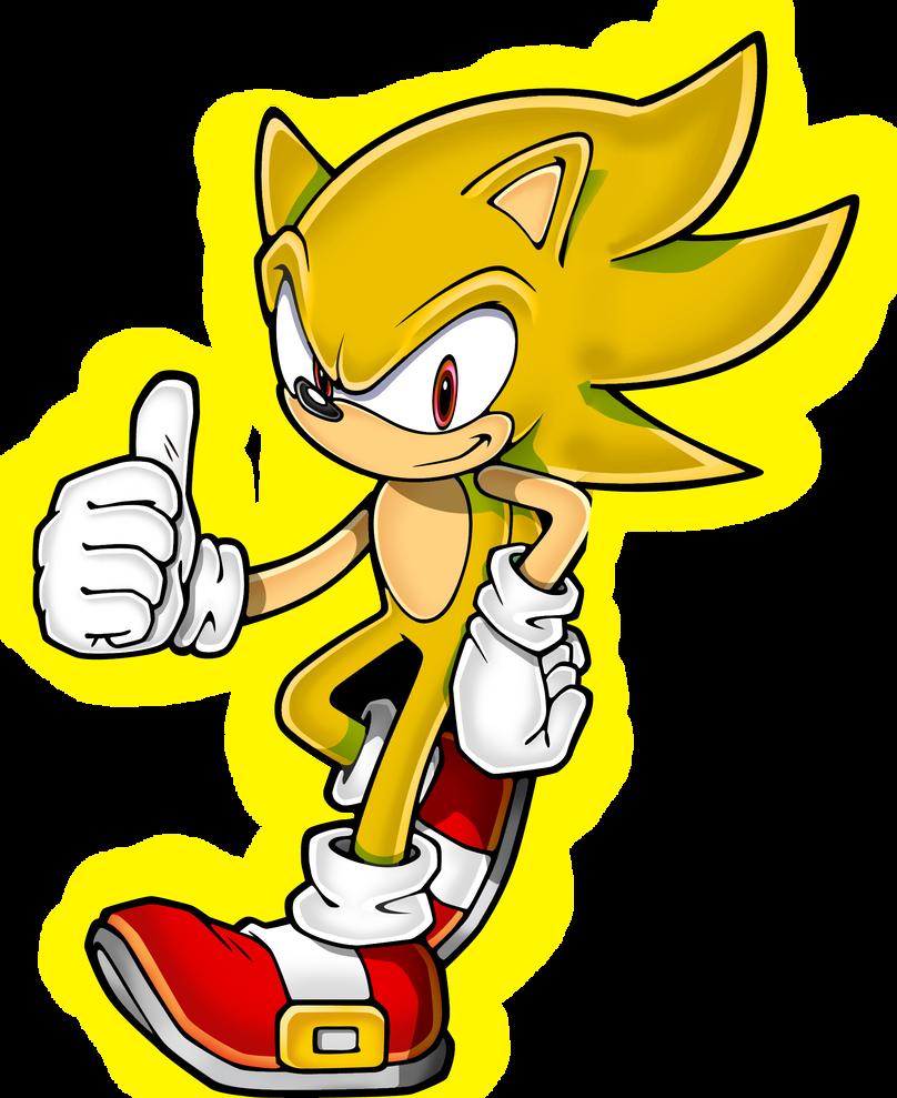 Super Sonic Render By Superalexis12 On Deviantart
