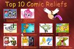 My Top 10 Comic Reliefs