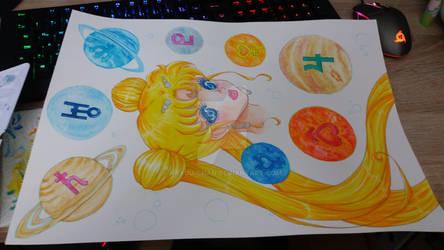 WiP - Sailor Moon Fanart