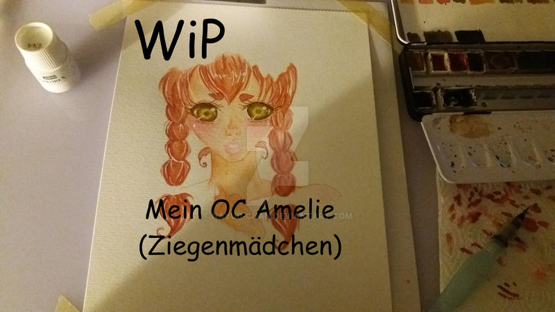 WiP Amelie das Ziegenmaedchen by Nayuu-chan