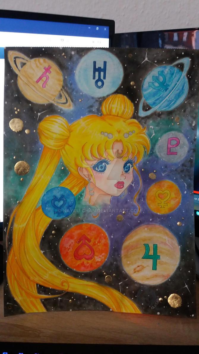 Sailor Moon Fanart fertig gestellt am 13.03.2018 by Nayuu-chan