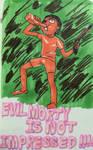Evil Morty is NOT Impressed