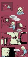 Undertale Comic: Dead child tell no tales by alganiq