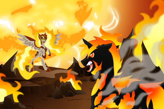 Let the World Burn: (Commish for ShinGodzilla)