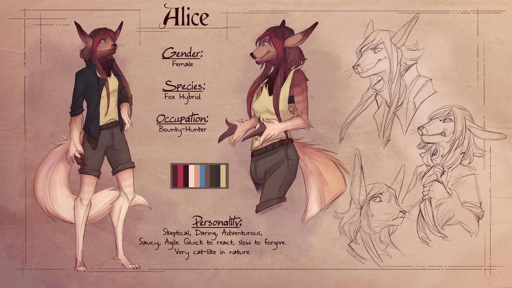 Commission - Alice Ref by KuroReiOokami
