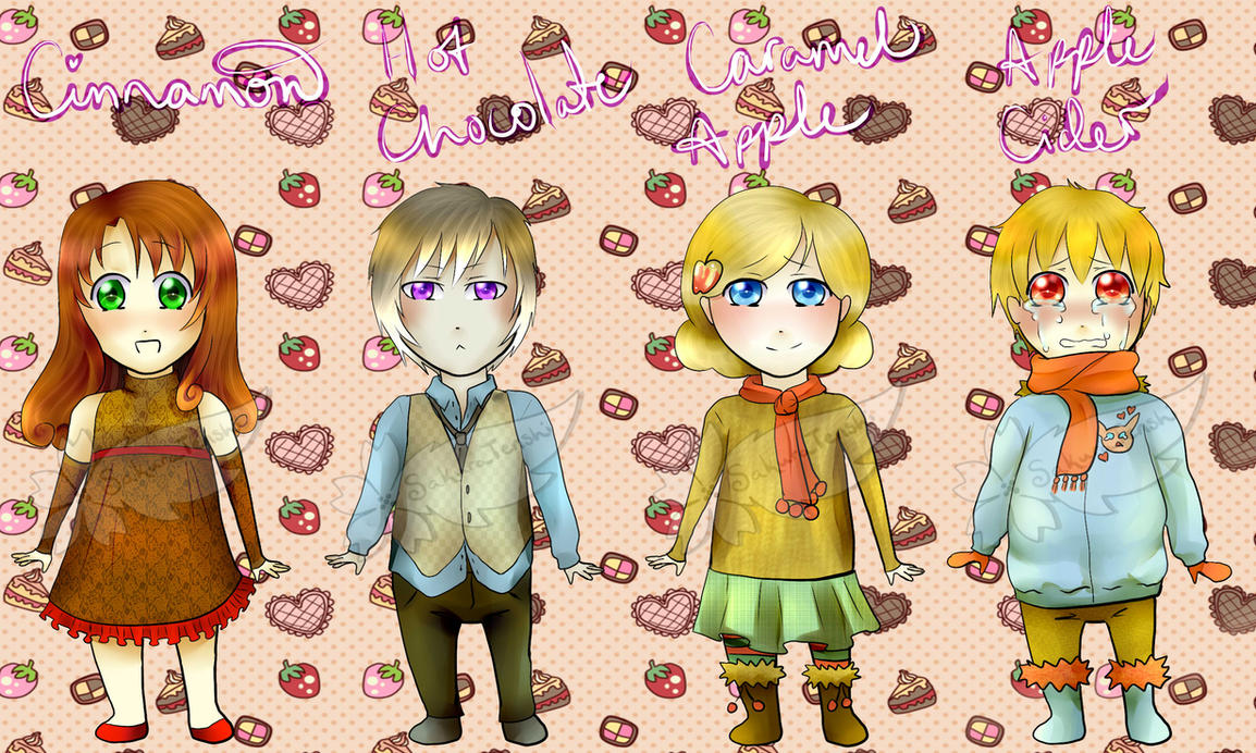 Autumn Food Adopts (CLOSED) - NEW UPDATE by SakuraTenshi101