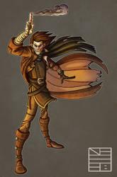 Caleb Widogast Character Colors by IADM