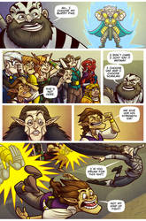 Critical Role STRENGTH page 5 Lettering