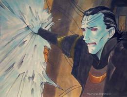 Loki cold as ice by x-Pleiades-x