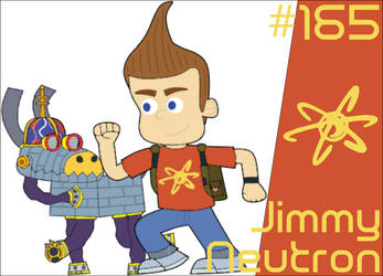 Jimmy Neutron (Playable Fighter) by BunnyBoy1337