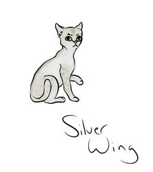 Silverwing by Candyarts13