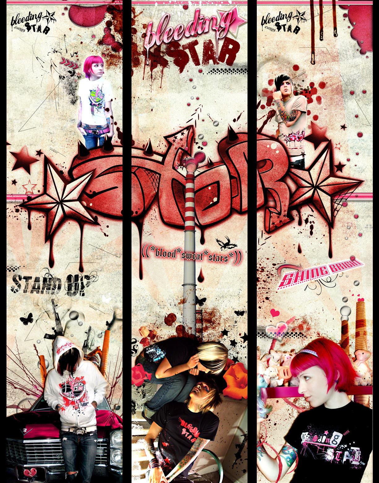 3 banner Set by BleedingStarClothing
