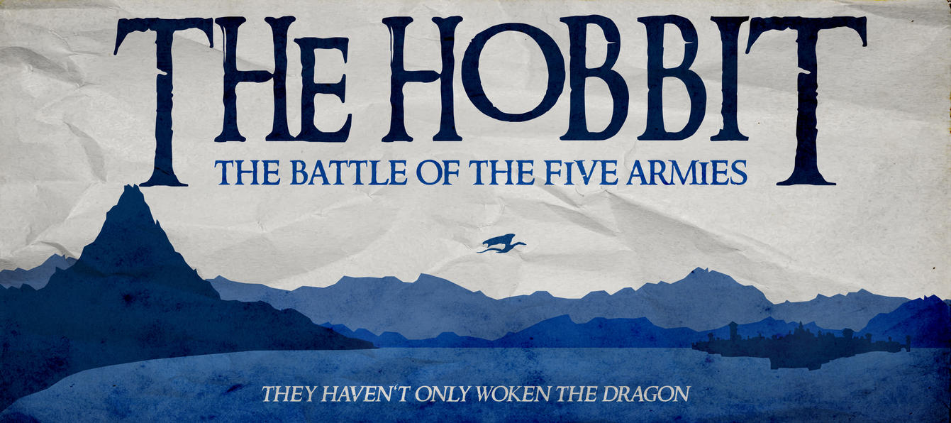 The Hobbit:Battle of the Five Armies Minim. Poster by ...