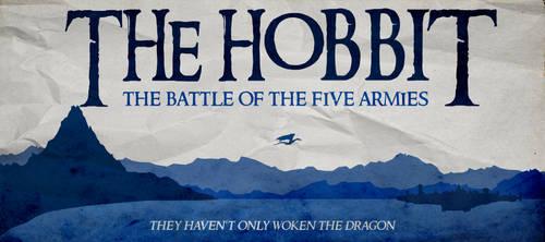 The Hobbit:Battle of the Five Armies Minim. Poster
