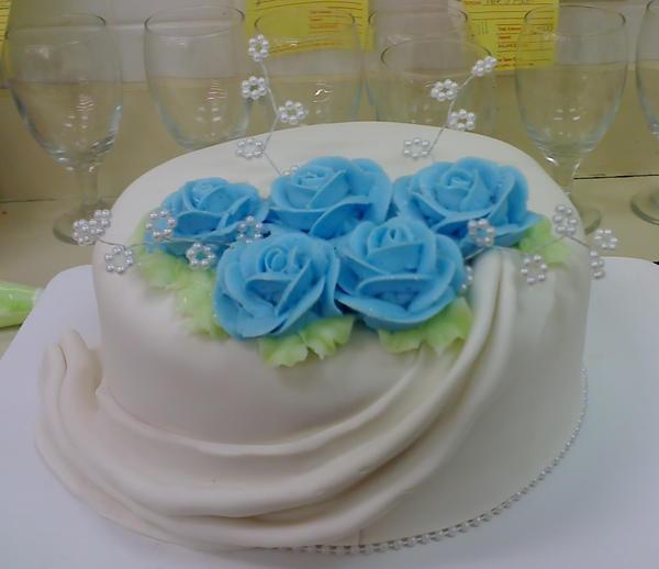 Fondant Birthday cake by Larissa-Rasputin on DeviantArt