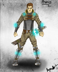 Character Concept: Phares by ncstonemen