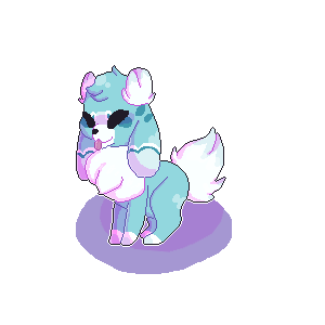 Doge Gal [PIXEL ART COMISSION] by PanMage