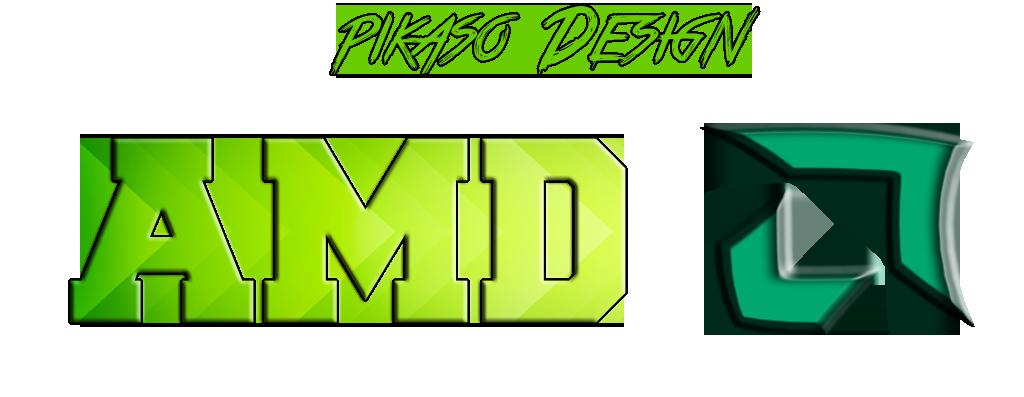 Amd Logo Render By Pikasodesign On Deviantart