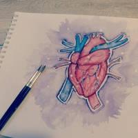 Spaceheart by cus-tard