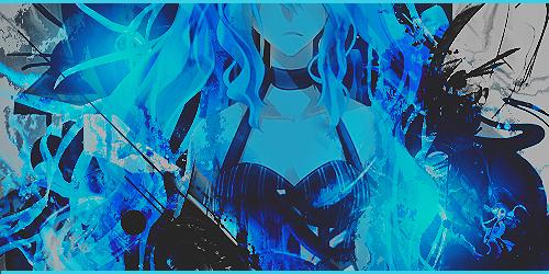 [Signature] Blue Miku by ZuttoSama