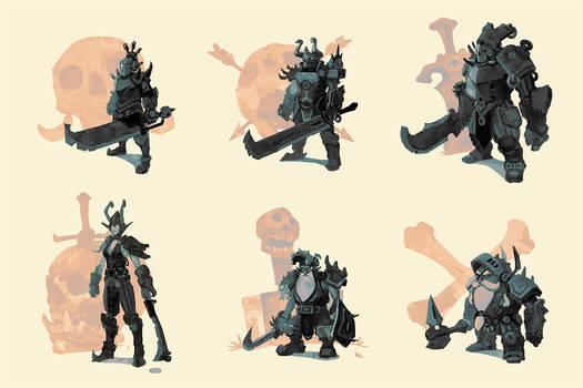 Knights of doom composite