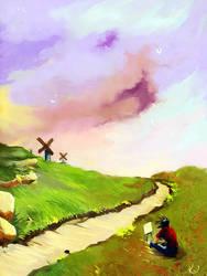 Spring fields by kveye