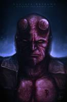 Hellboy by Indigohx