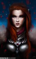 Lady Knight by Indigohx