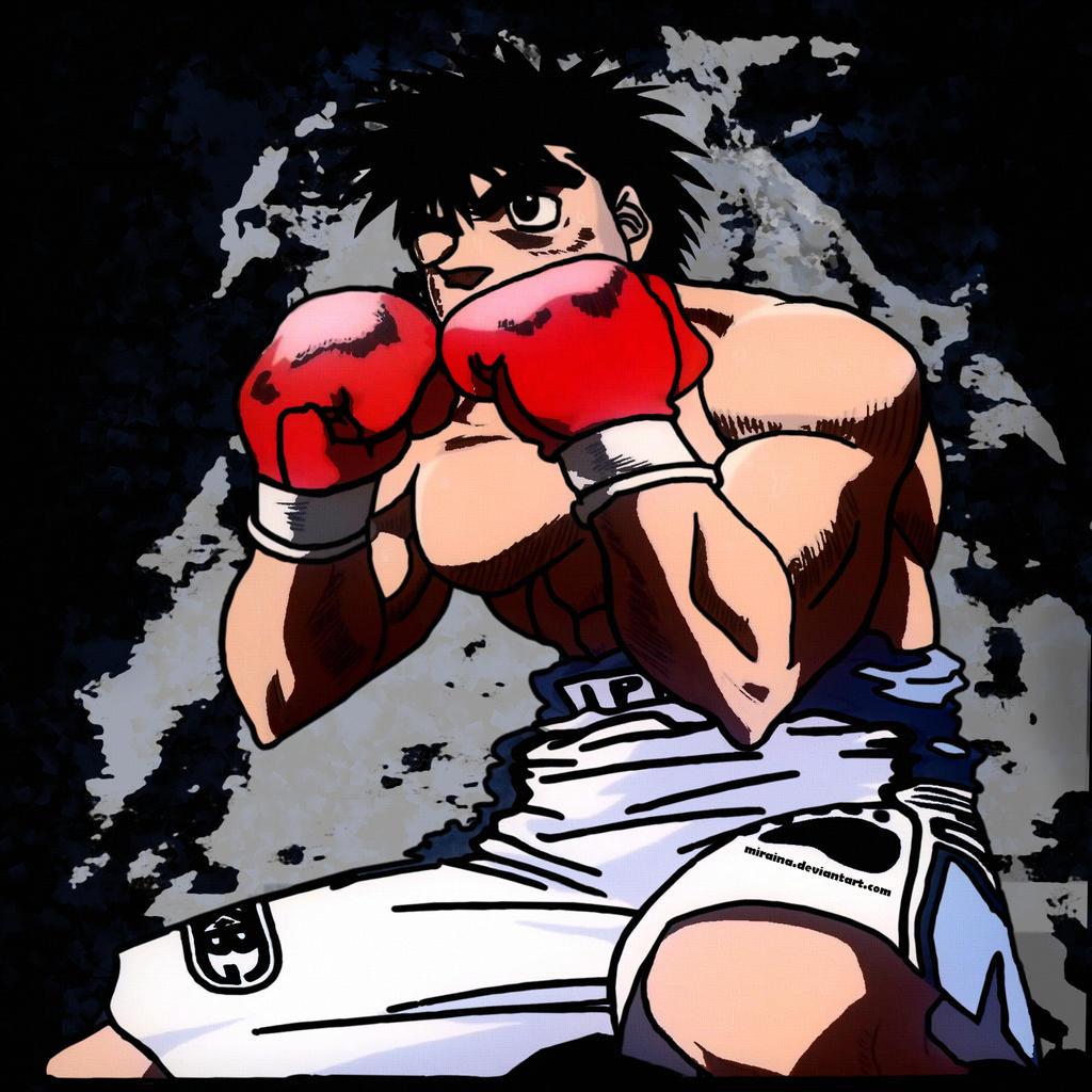 Hajime No Ippo Makunouchi Ippo Fight By Miraina On DeviantArt
