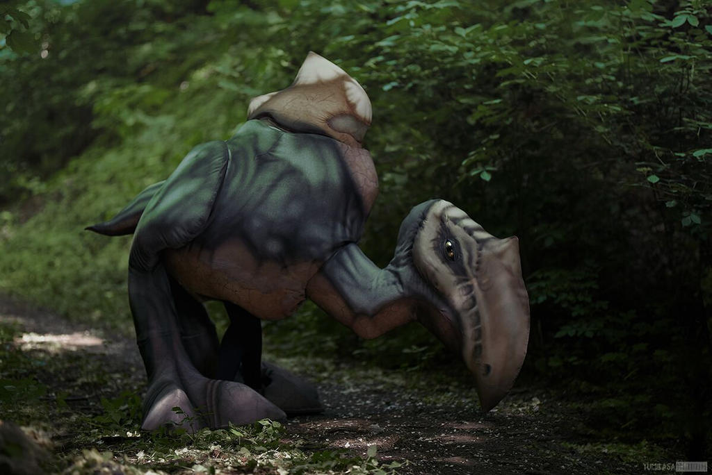 Scavenger/Scierwojad cosplay [from game GOTHIC 1] by TeaLabel