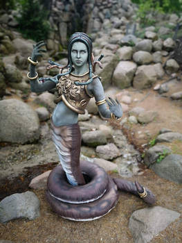 Medusa Queen cosplay [Heroes of Might and Magic 3]