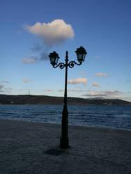 Sea, land and sky