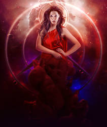 The Goddess of Chaos(Scarlet witch) by ValleryPranks