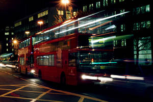 Moving Bus by funkyphotographer