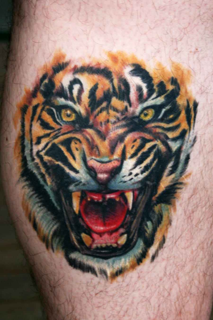 tiger tattoo by scoot75 photography other 2011 2015 scoot75 tattoo ...