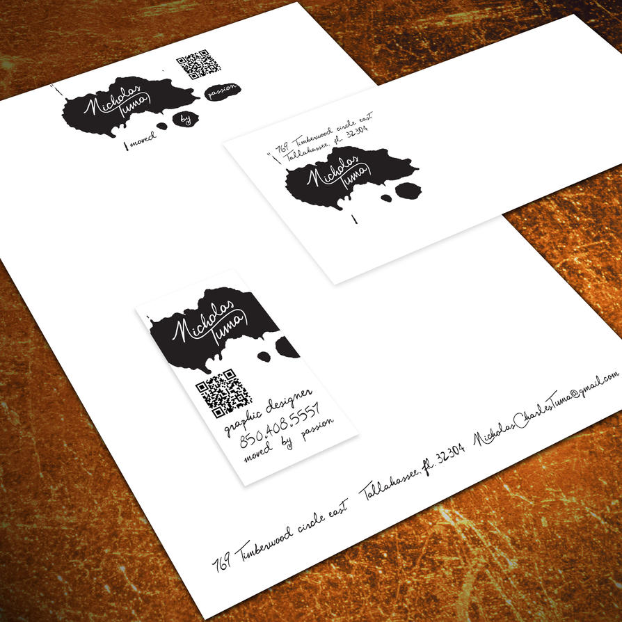 Letterhead business card number 10 envelope by untouchabledesign colourmoves Gallery