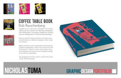 Bob Rauschenberg Book Cover