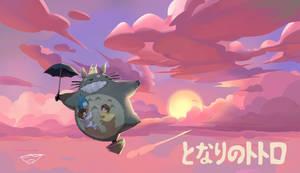 Totoro Fanart by Conluoi