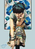 Blue Ranger by Conluoi