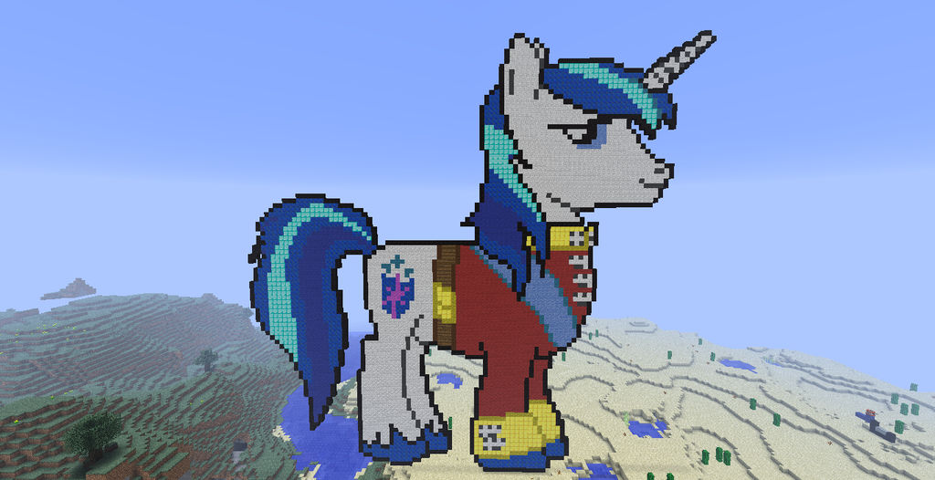 Minecraft Pixel Art Shining Armor By Blackhawkgawd On