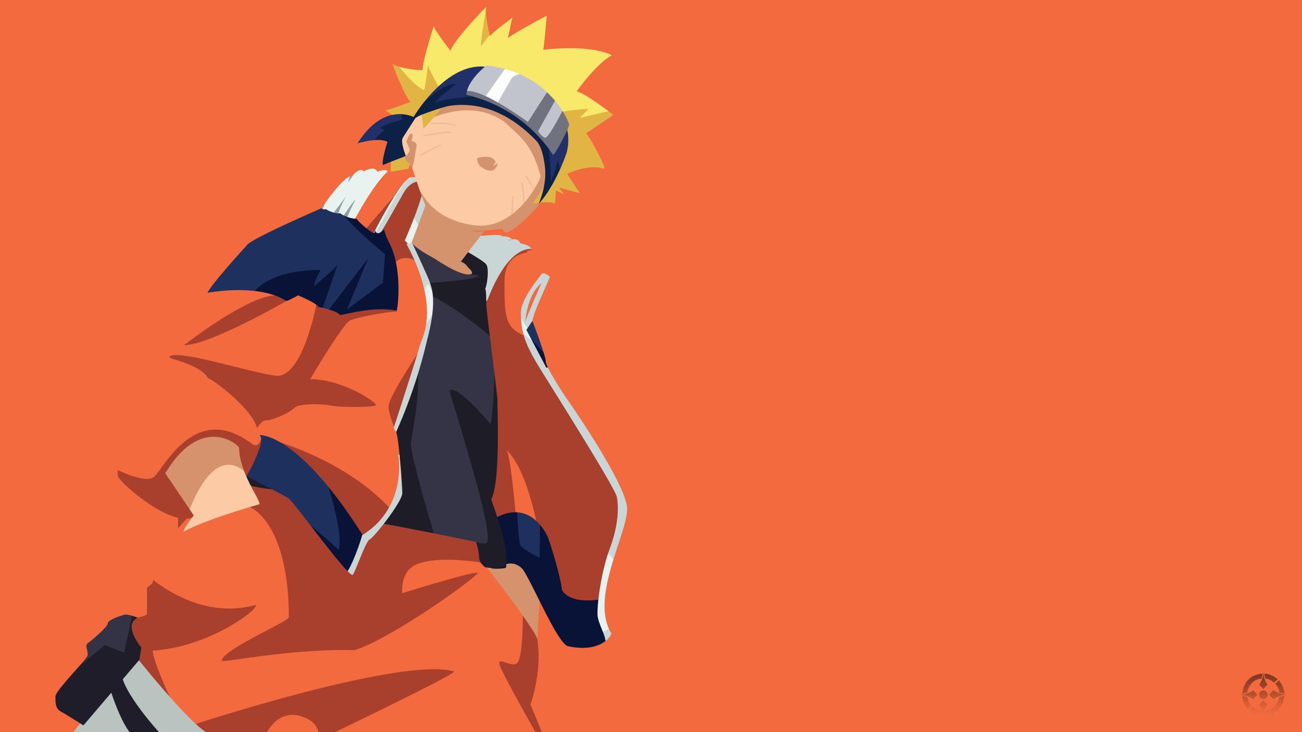 Naruto Uzumaki [ KID ] - Minimalist Design Wallpap by ...