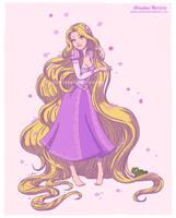 Tangled, princess Rapunzel - Disney collection by ariartna