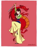 Mulan fan art, Disney princesses collection