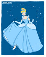 Cinderella fan art, Disney princesses collection by ariartna