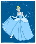 Cinderella fan art, Disney princesses collection